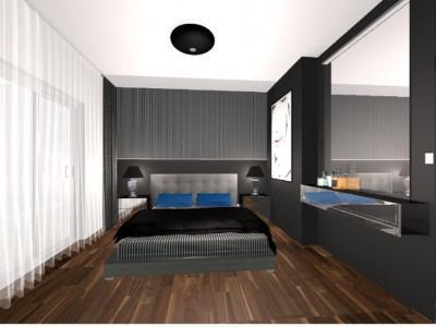 Nowoczesna sypialnia 1