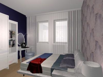Nowoczesna sypialnia 2