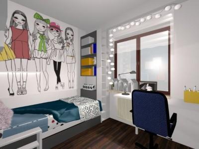 Stylowe nowoczesne mieszkanie 9